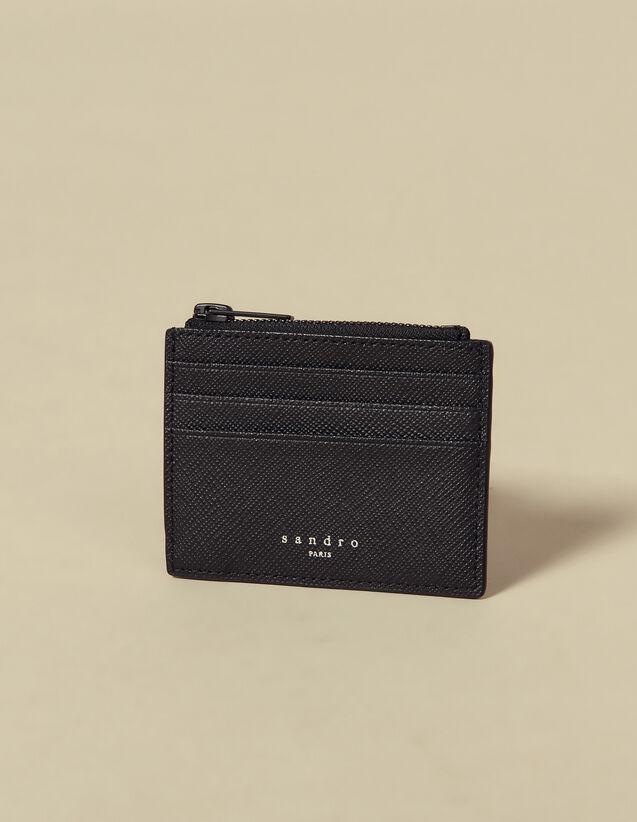 Kartenetui mit Reißverschluss : Kartenhalter & Brieftaschen farbe Schwarz