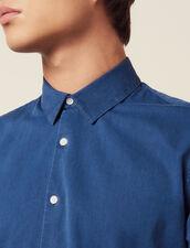 Casual-Hemd Aus Verwaschenem Chambray : LastChance-RE-HSelection-Pap&Access farbe Blue Vintage - Denim