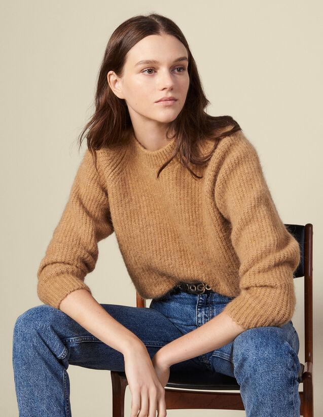 Pulover mit Raglanärmel : Pullover & Cardigans farbe Camel