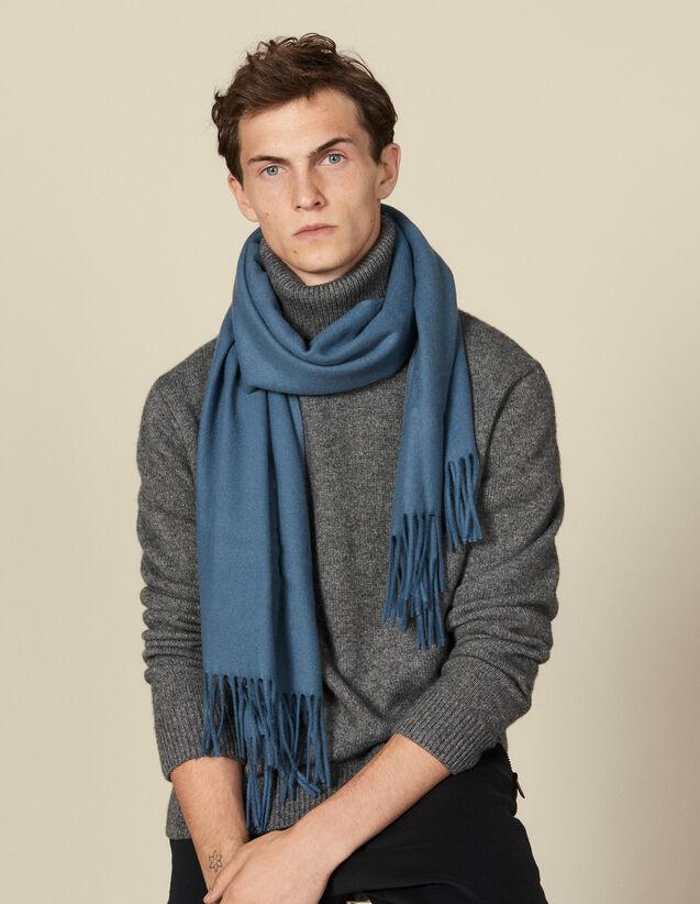 Schal aus Wolle und Kaschmir : Scarves farbe Anthrazit