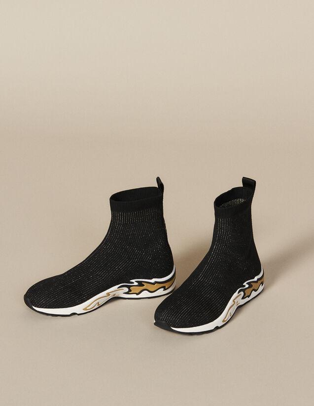 Sockensneaker Flame : Schuhe farbe Schwarz/Gold