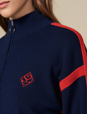 Pullover mit Stehkragen : FBlackFriday-FR-FSelection-30 farbe Marine