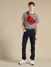 Jeans Mit Geradem Schnitt : Jeans farbe Indigo