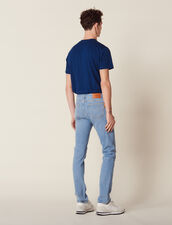 Schmal Geschnittene Washed Jeans : LastChance-CH-HSelection-Pap&Access farbe Blue Vintage - Denim
