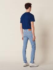 Schmal Geschnittene Washed Jeans : Sélection Last Chance farbe Blue Vintage - Denim