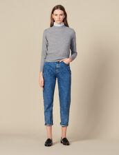 Pullover Mit Angesetztem Kragen : Pullover & Cardigans farbe Hellgrau