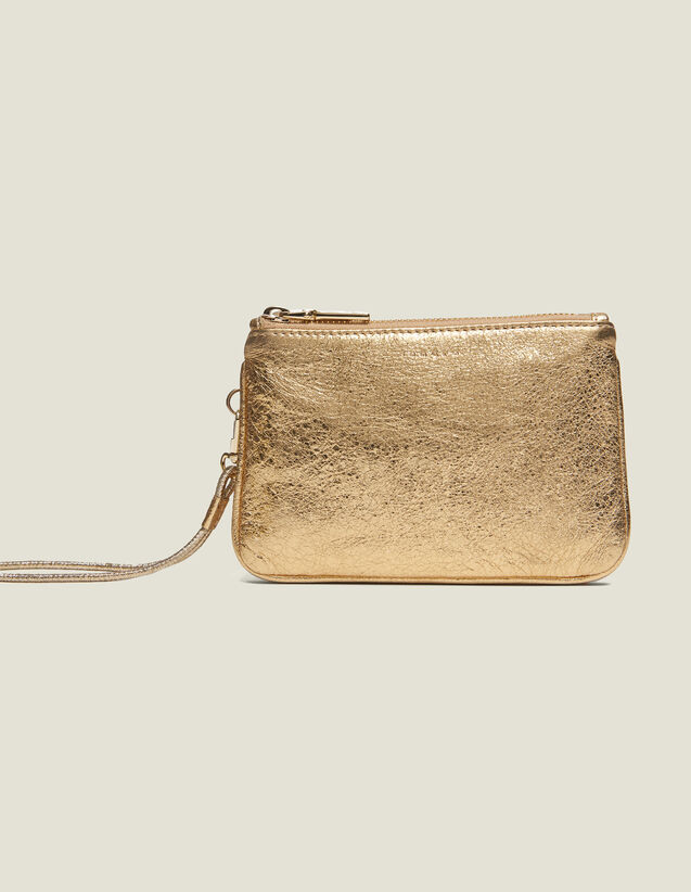 Addict Pochette : Kleinlederwaren farbe Full Gold