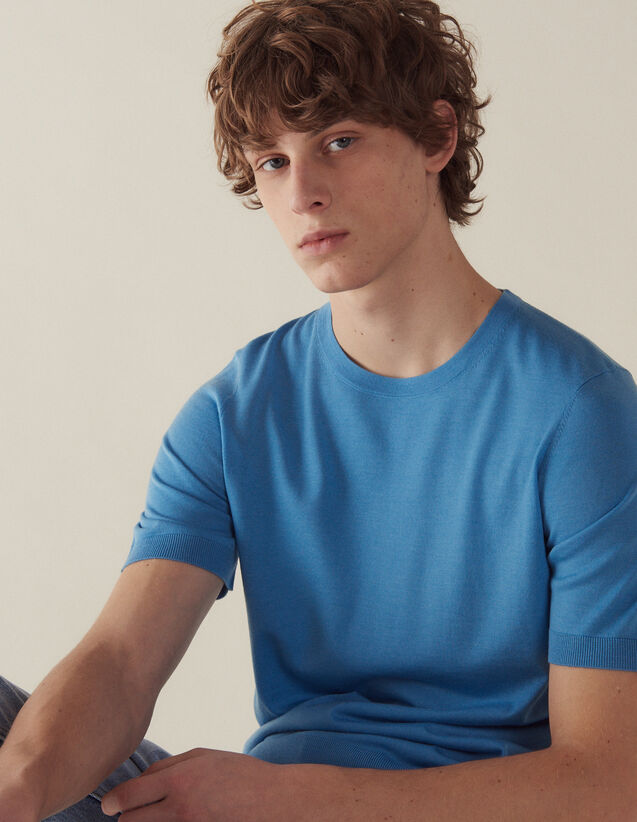 Pullover Aus Merino Mit Kurzen Ärmeln : Pullovers & Cardigans farbe Schwarz