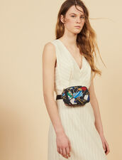 Midi-Kleid Mit Schmalen Streifen : LastChance-CH-FSelection-Pap&Access farbe Weiß