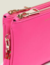 Addict Mini-Pochette Mit Trageschlaufe : Sommer Kollektion farbe Neon-Rosa