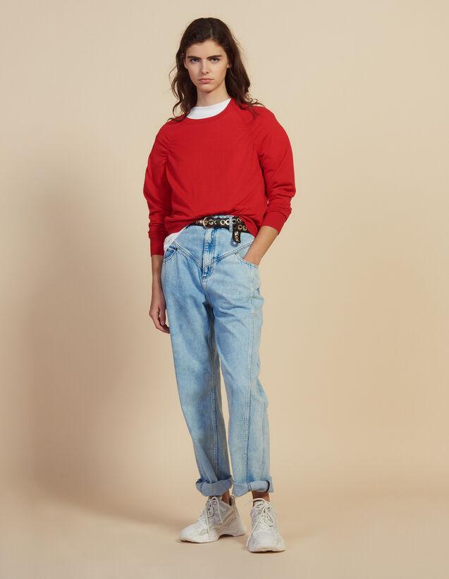 Pullover Aus Wolle Mit Langen Ärmeln : Pullover & Cardigans farbe Rot