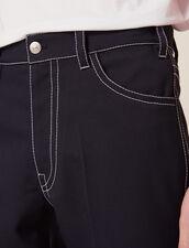 Hose Mit Kontrastnähten : Hosen & Shorts farbe Marine