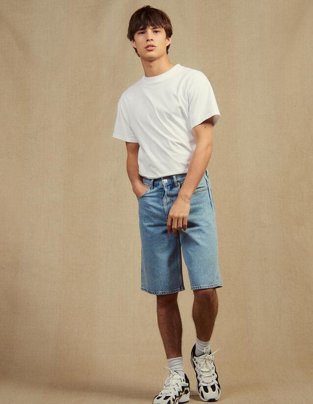 Bermudashorts Aus Jeans : Hosen & Shorts farbe Blue Vintage - Denim