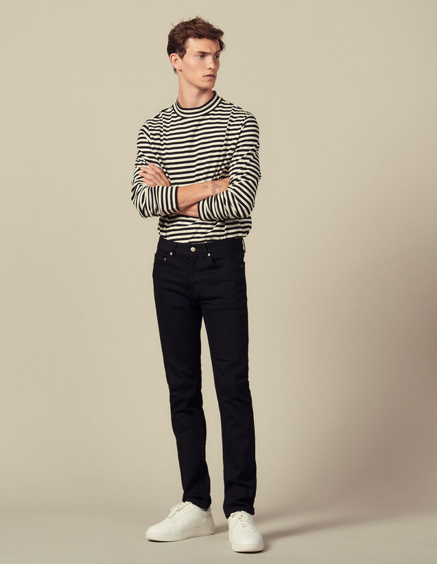 Slim-Jeans : Jeans farbe Black - Denim