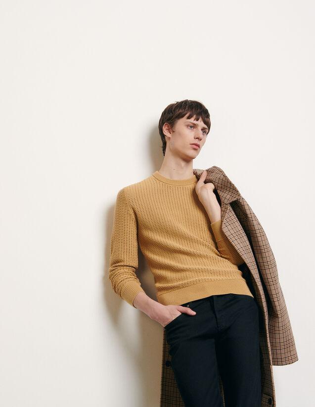 Pullover aus durchbrochenem Strick : Pullovers & Cardigans farbe Camel