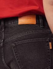 Bermudashorts Aus Jeans : Sélection Last Chance farbe Schwarz