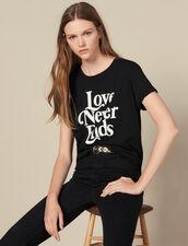 T-Shirt Mit Kontrastierendem Schriftzug : FBlackFriday-FR-FSelection-30 farbe Schwarz