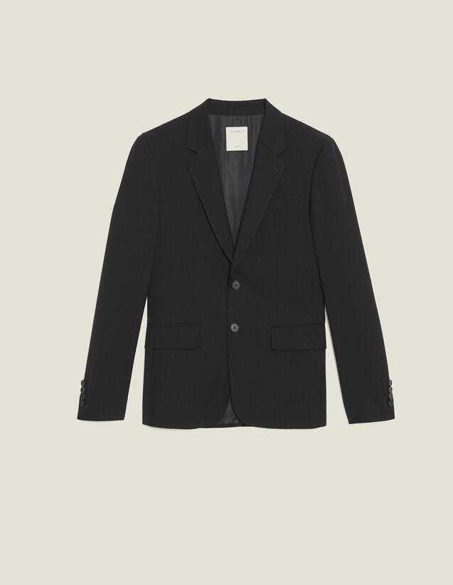 Anzugsakko Aus Wolle : Anzüge & Smokings farbe Schwarz
