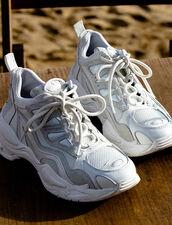 Astro Sneaker Mit Grafischer Sohle : Schuhe farbe Weiß