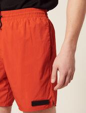 Kurze Badehose : Sonnenbad farbe Orange