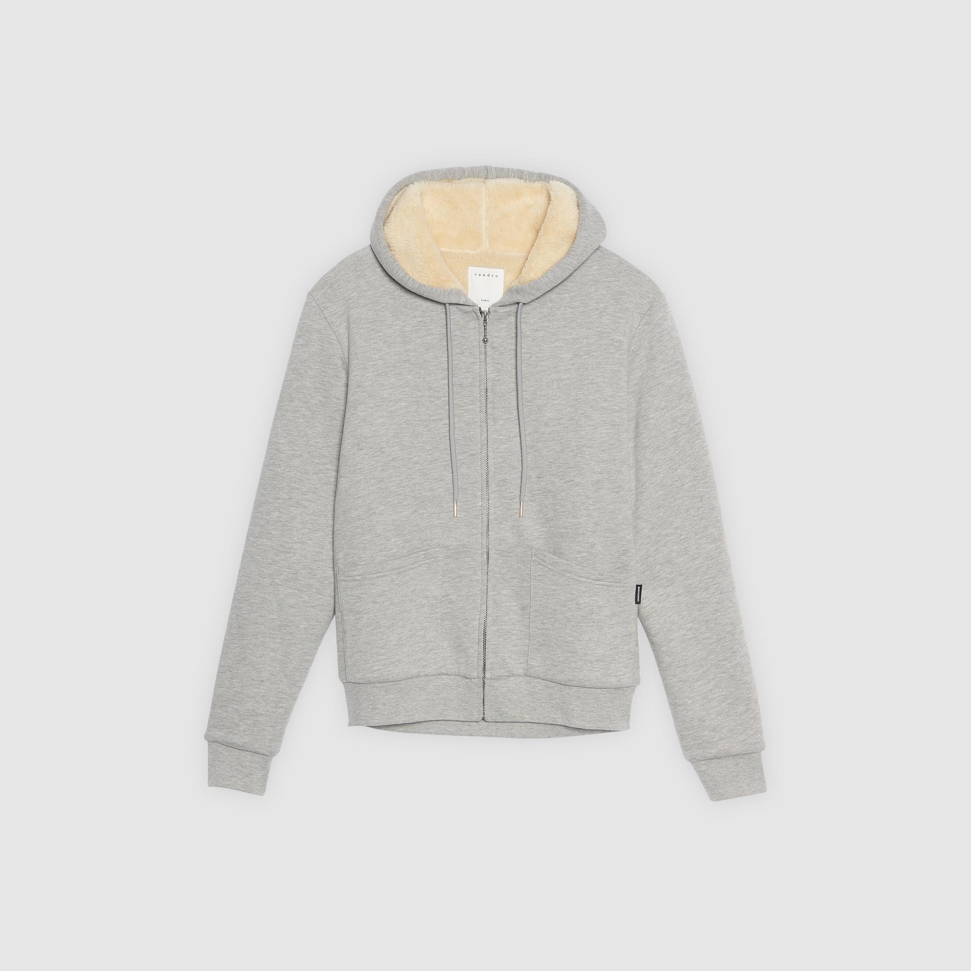 ... Kapuzen-Sweatshirt mit Reißverschluss   Sweatshirts farbe Grau Meliert c1d65c0a70