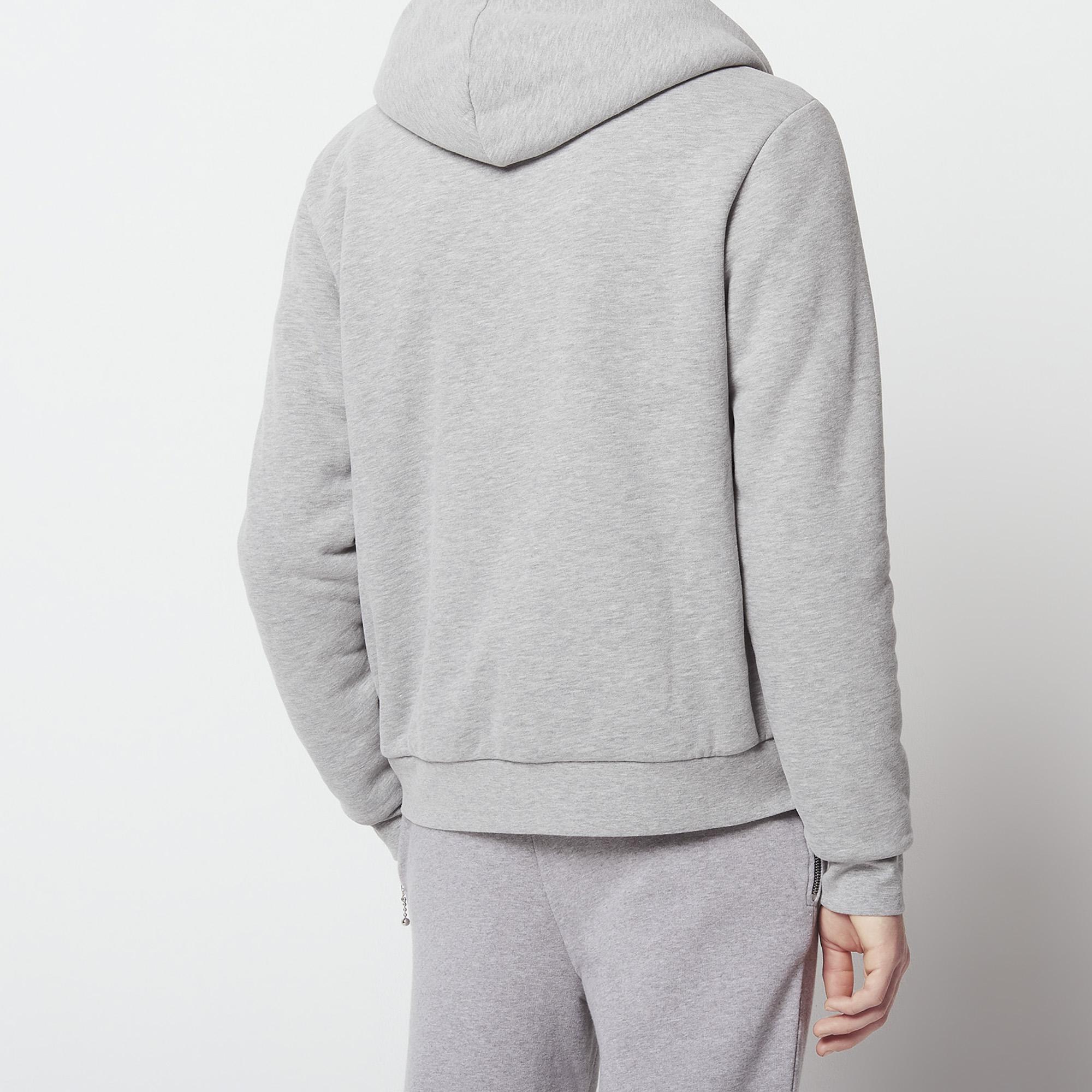 ... Kapuzen-Sweatshirt mit Reißverschluss   Sweatshirts farbe Grau Meliert  ... 9f604ce802